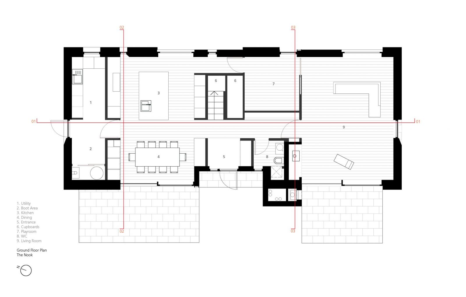 The Nook Hall Bednarczyk Architects